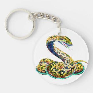 Lucky Zodiac Serpent | keychain