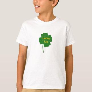 luckycloverbig, Lucky Kid T-Shirt