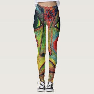LuckyPen Art Leggings