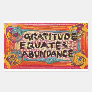 LuckyPen Gratitude Sticker