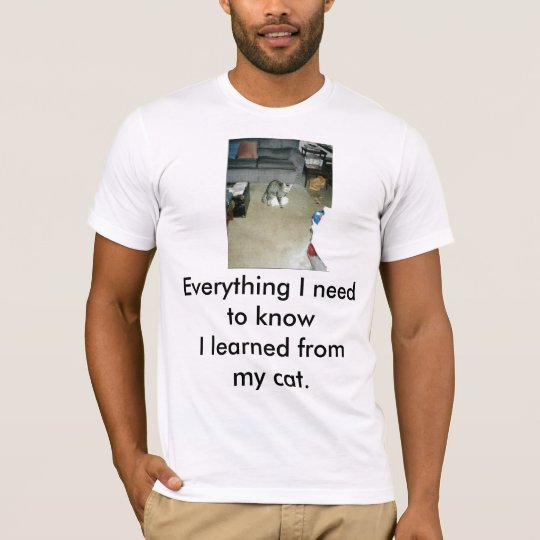 luckyrascal, Everything I need to know T-Shirt