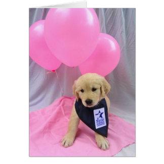 Lucy Balloon Card