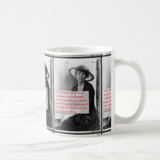 Lucy Burns Suffragist Coffee Mug
