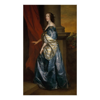 Lucy Percy, Countess of Carlisle  c.1637 Poster