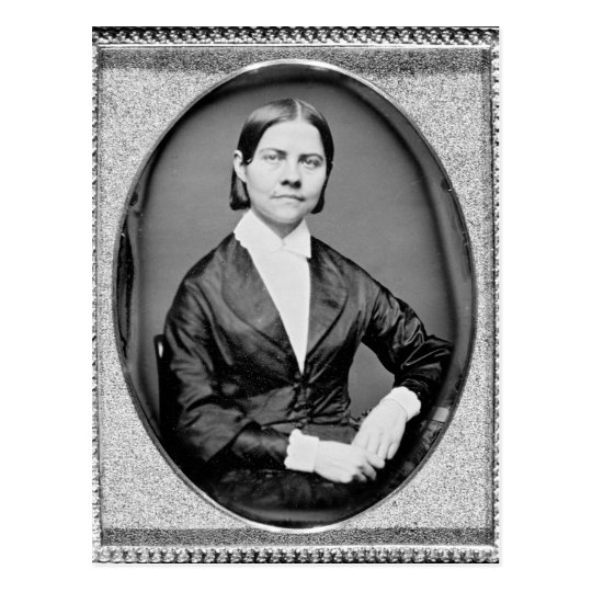Lucy Stone American Abolitionist and Suffragist Postcard