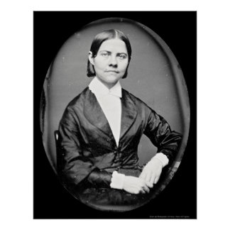 Lucy Stone Daguerreotype 1844 Poster
