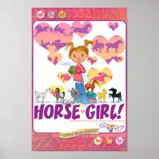 Lucy's HorseGirl Poster