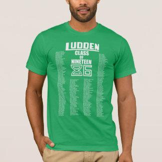 Ludden Class of Nineteen 86 - Men's Throwback Tee! T-Shirt