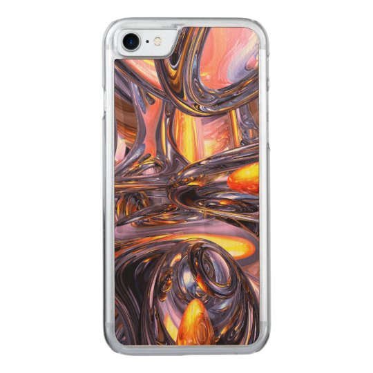 ludicrous Voyage Abstract Carved iPhone 8/7 Case