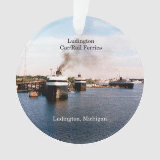 Ludington Car/Rail Ferries acrylic ornament