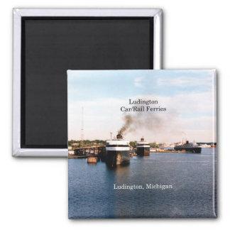 Ludington Car/Rail Ferries magnet