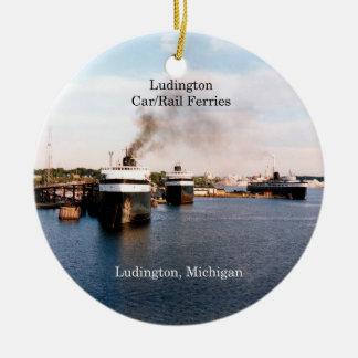 Ludington Car/Rail Ferries ornament