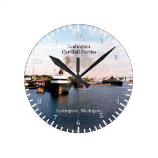 Ludington Carferries clock