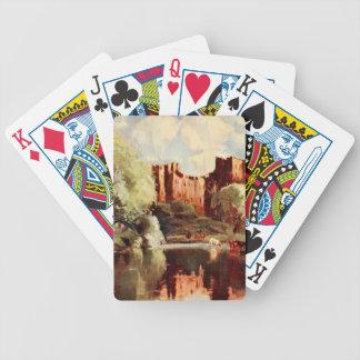 Ludlow Castle III, Shropshire, England Poker Deck
