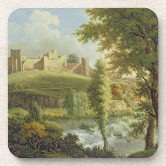 Ludlow Castle with Dinham Weir, from the South-Wes Beverage Coasters