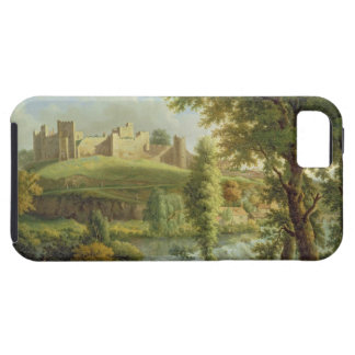 Ludlow Castle with Dinham Weir, from the South-Wes iPhone 5 Cases
