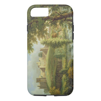 Ludlow Castle with Dinham Weir, from the South-Wes iPhone 7 Case