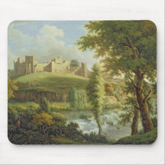 Ludlow Castle with Dinham Weir, from the South-Wes Mouse Pad
