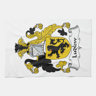 Ludlow Family Crest Kitchen Towel