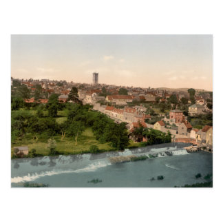 Ludlow, Shropshire, England Postcard