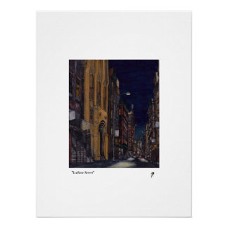 """Ludlow Street"" limited edition print(50) Poster"