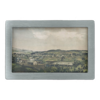 Ludlow Vermont From South Hill (1859) Belt Buckle