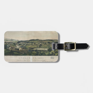 Ludlow Vermont From South Hill (1859) Luggage Tag