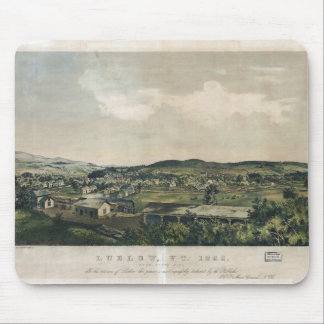 Ludlow Vermont From South Hill (1859) Mouse Pad