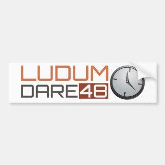 Ludum Dare Shiny Clock Bumper Stickers