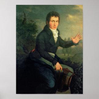 Ludvig van Beethoven , 1804 Poster