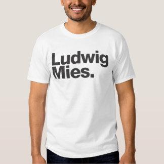 Ludwig Mies/hommes viables Tee Shirts