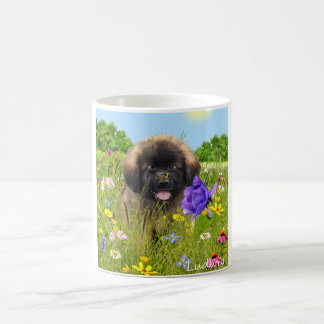 Ludwig the Leonberger Puppy Mugs