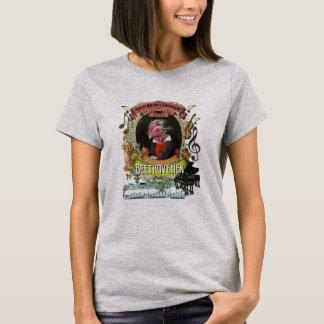 Ludwig van Beethovehen Animal Composer Series Hen T-Shirt