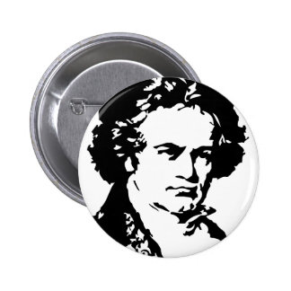 Ludwig van Beethoven 2 Inch Round Button