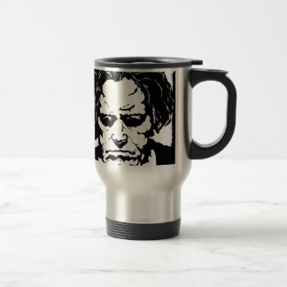 Ludwig van Beethoven - famous German composer Travel Mug