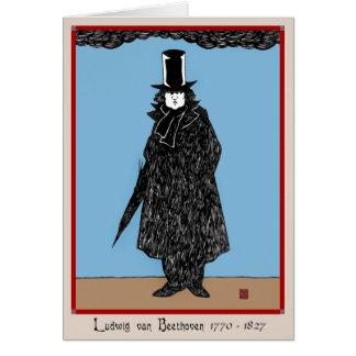 """""""Ludwig van Beethoven"""" Greeting Card"""