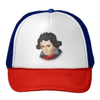 Ludwig van Beethoven in the Cartoon style Trucker Hat