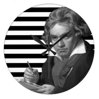 Ludwig van Beethoven Large Clock