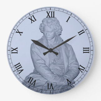 Ludwig Van Beethoven Large Clock