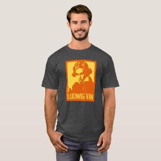Ludwig Van Beethoven Pop Art Portrait T-Shirt
