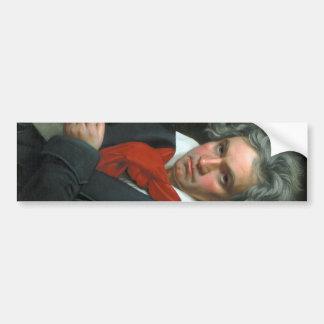 Ludwig van Beethoven Portrait Bumper Sticker
