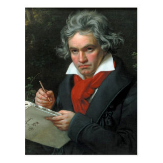 Ludwig van Beethoven Portrait Postcard