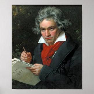 Ludwig van Beethoven Portrait Print