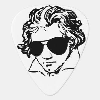 Ludwig van Beethoven with sun glasses Guitar Pick