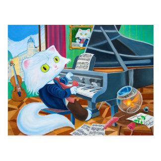 """Ludwig van Caathoven"" Postcard"