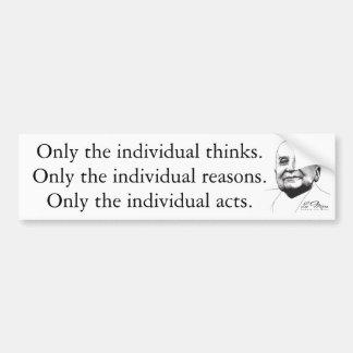 Ludwig von Mises Bumper Sticker