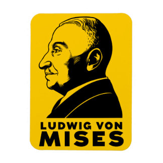 Ludwig von Mises Premium Flexi Magnet
