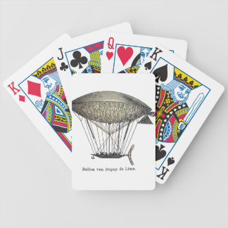 Luftschiff_de_Lome Bicycle Playing Cards