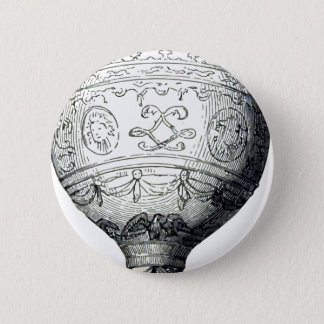 Luftschiff_Montgolfier 2 Inch Round Button