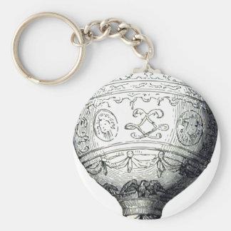 Luftschiff_Montgolfier Keychain